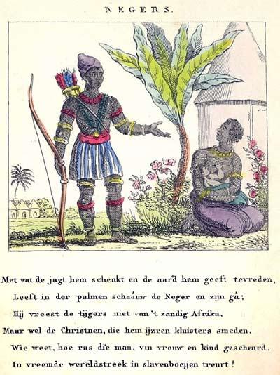 Kinderversje over slavernij en christenen - Smeden van ijzeren ...